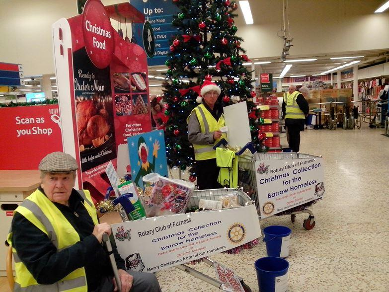 Tin Collection - TESCO - Sunday 14th December 2014 - Tin Cllection picture