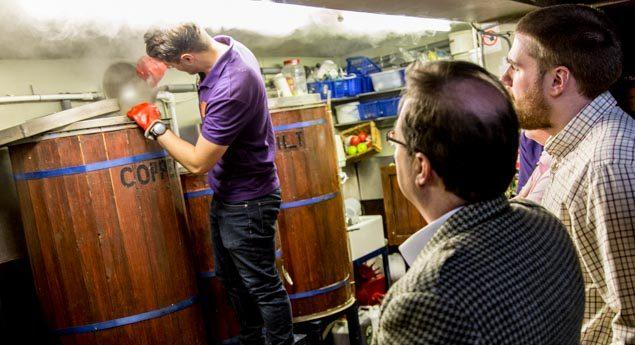 Visit to Bridge of Allan Brewery November 2
