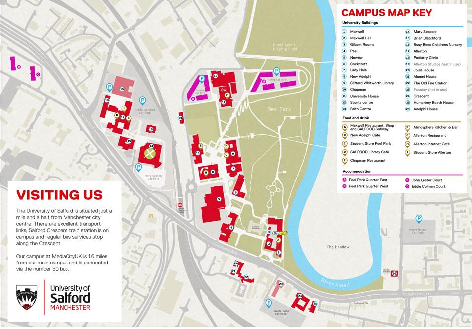 Salford University Map District 1285 Assembly   Rotary Club of Manchester