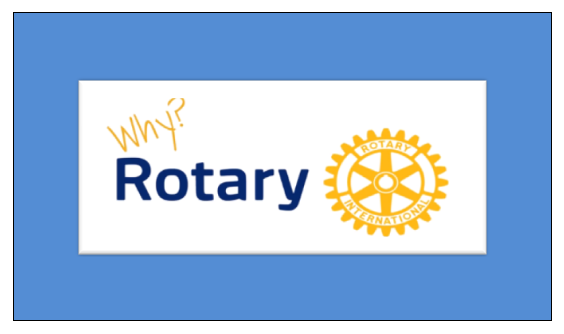 Who can be a member of Rotary? New members. - ..