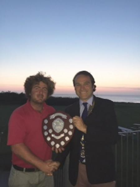 Golf Day - Winner of the 2015 Newquay Rotary Golf Day