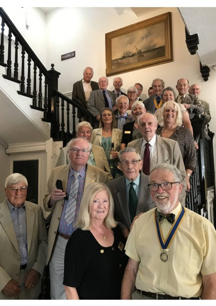 The Club of 2018/19 (New Officers take over on 1st July each year)