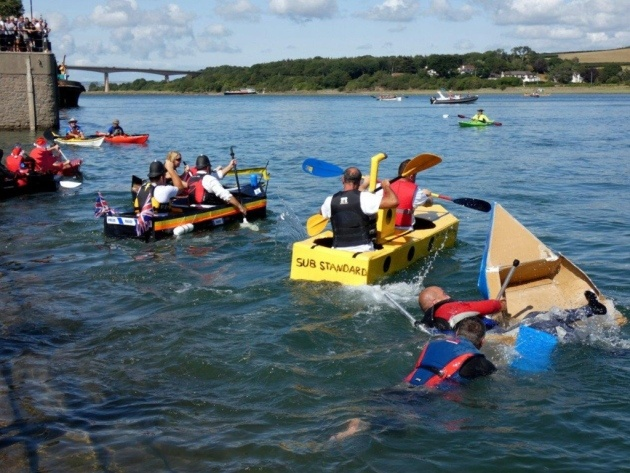 Bideford Cardboard Boat Regatta