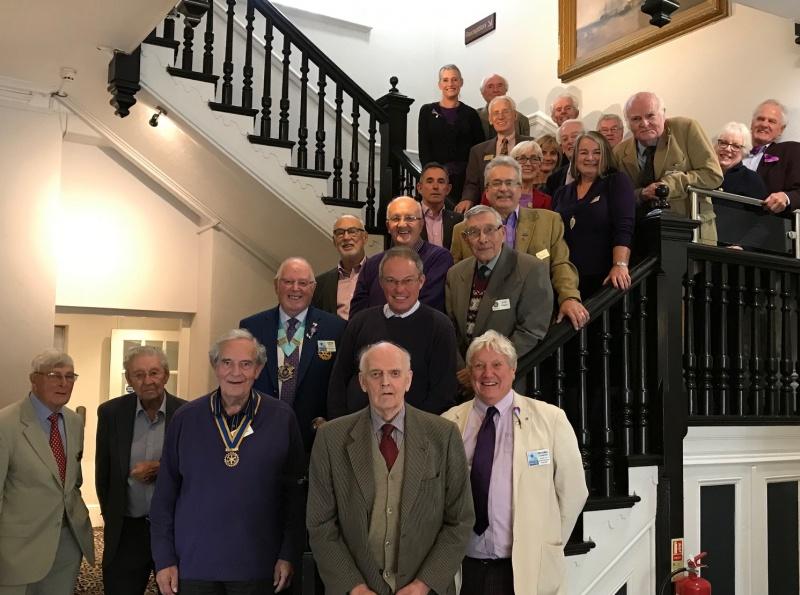 Bideford Rotary Club Members Photo 2019