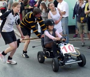2015 Lostwithiel Carnival Pram Race