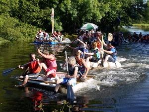 2015 Lostwithiel Carnival Raft Race