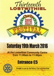 13th (2016) Lostwithiel Charity Beer Festival Programme