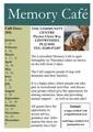 Lostwithiel Memory Café 2017 Dates Flyer