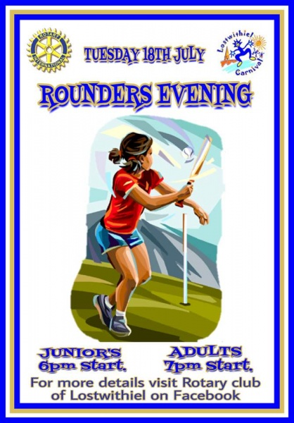 16 July 2017 - Lostwithiel Carnival Rounders Evening