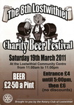 8th Lostwithiel Charity Beer Festival Saturday 19th March 2011 (one of Cornwall's best little beer festivals)