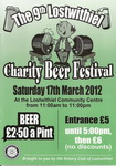 9th Lostwithiel Charity Beer Festival Saturday 17th March 2012 (one of Cornwall's best little beer festivals)