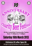 2013 Lostwithiel Charity Beer Festival