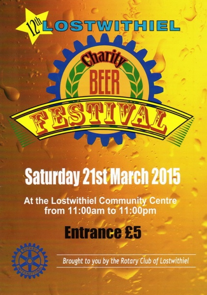 2015 Beer Festival Programme Page 01