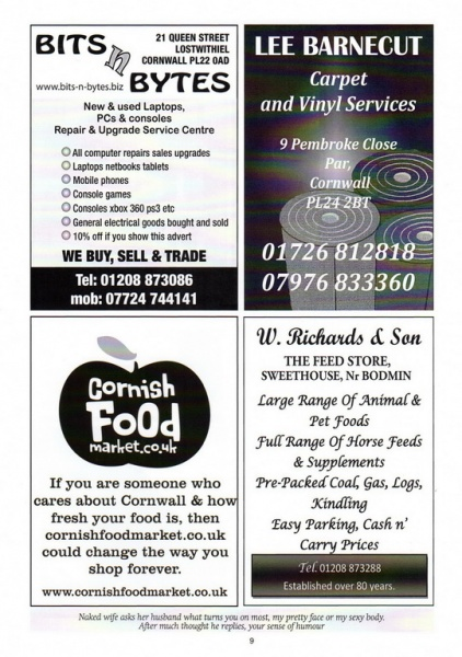 2015 Beer Festival Programme Page 09