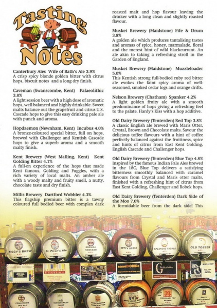 2015 Beer Festival Programme Page 18