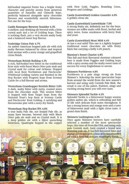 2015 Beer Festival Programme Page 19