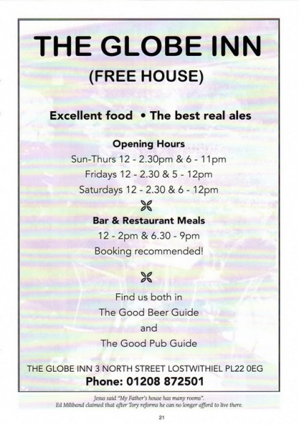 2015 Beer Festival Programme Page 21