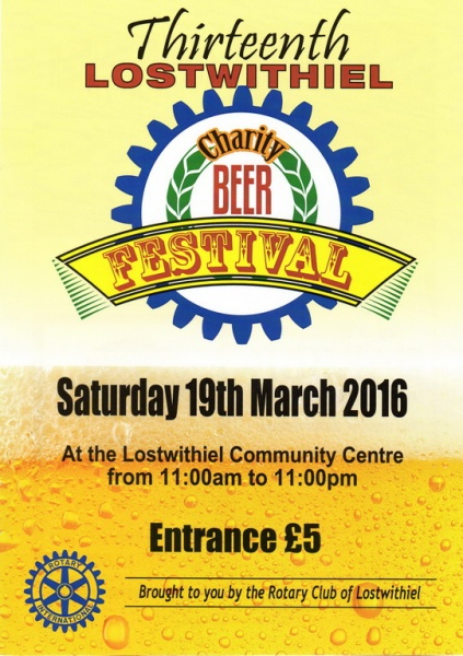 2016 Beer Festival Programme Page 01