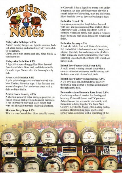 2016 Beer Festival Programme Page 20
