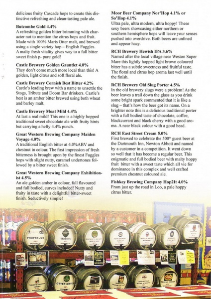 2016 Beer Festival Programme Page 21