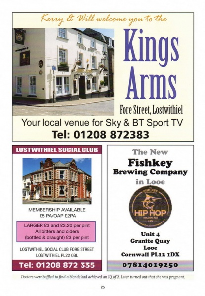 2016 Beer Festival Programme Page 25