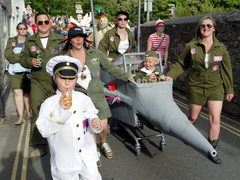 2011 Lostwithiel Carnival Procession Photos