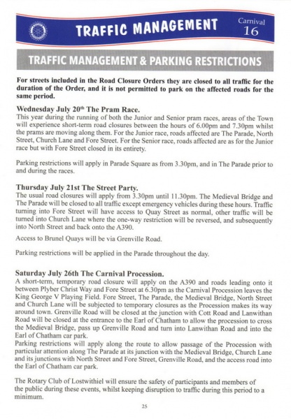 2016 Carnival Programme Page 25