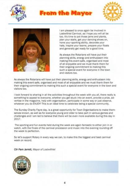 Lostwithiel Carnival Programme Page 04