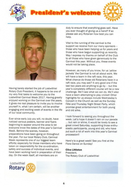 Lostwithiel Carnival Programme Page 06