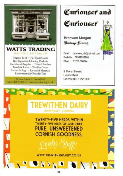 Lostwithiel Carnival Programme Page 24