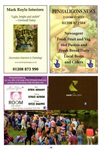 Lostwithiel Carnival Programme Page 34