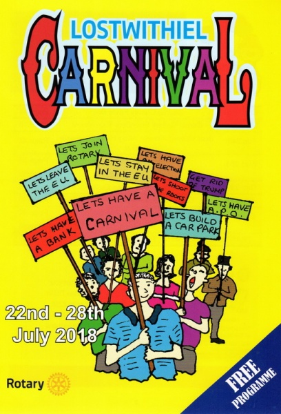 2018 Carnival Programme Page 01