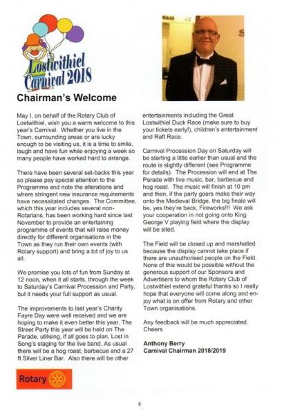 2018 Carnival Programme Page 08