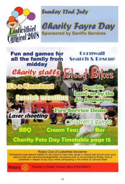 2018 Carnival Programme Page 14