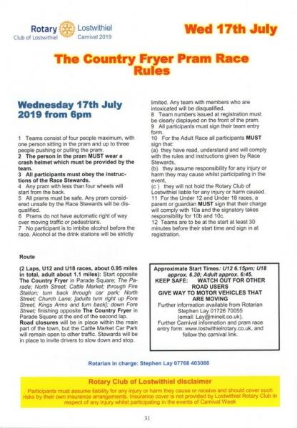 2019 Carnival Programme Page 31