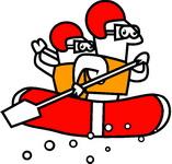 2013 Lostwithiel Carnival Raft Race