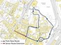 2015 Lostwithiel Carnival Pram Race Map