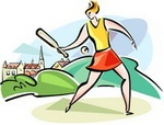 Monday 23rd July, Rounders Competition