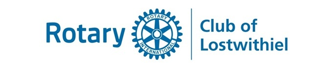 Rotary club of Lostwithiel logo