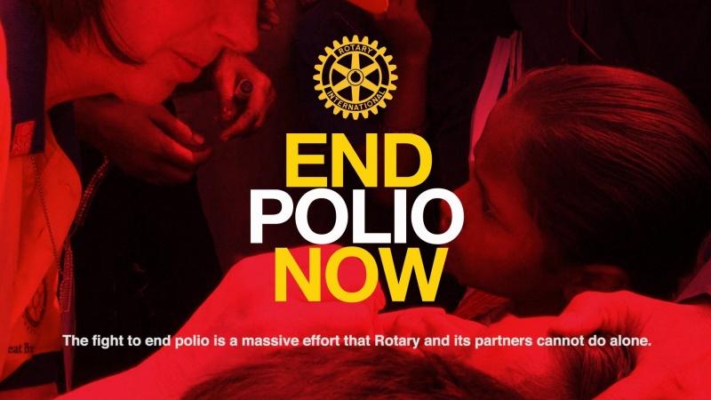 Help eradicate polio