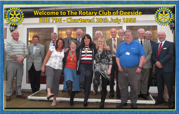 Welcome to the Rotary Club of Deeside!