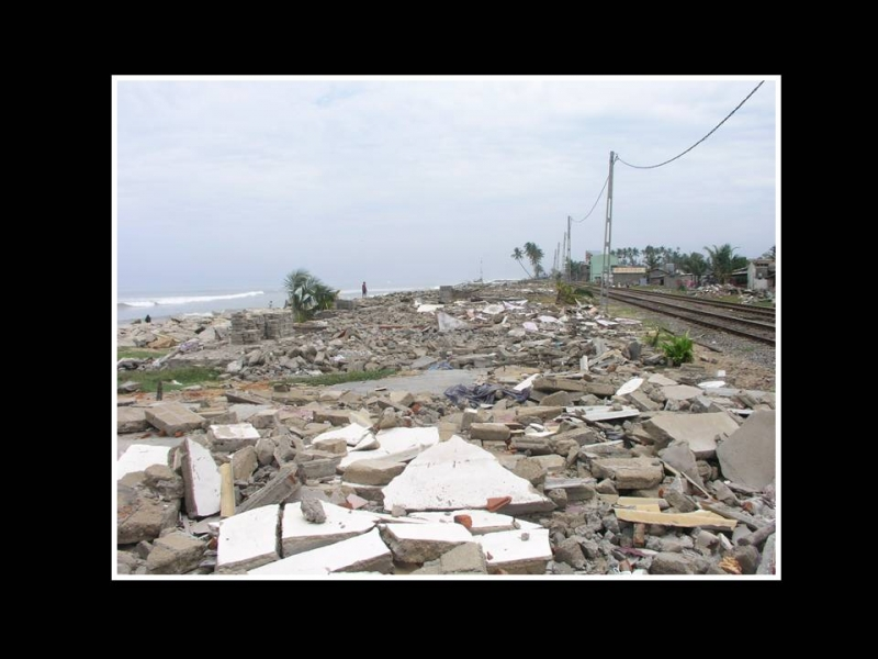 Destruction after the Tsunami