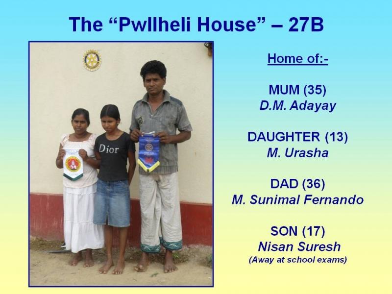 Sri Lanka's Pwllheli House gets its new occupants