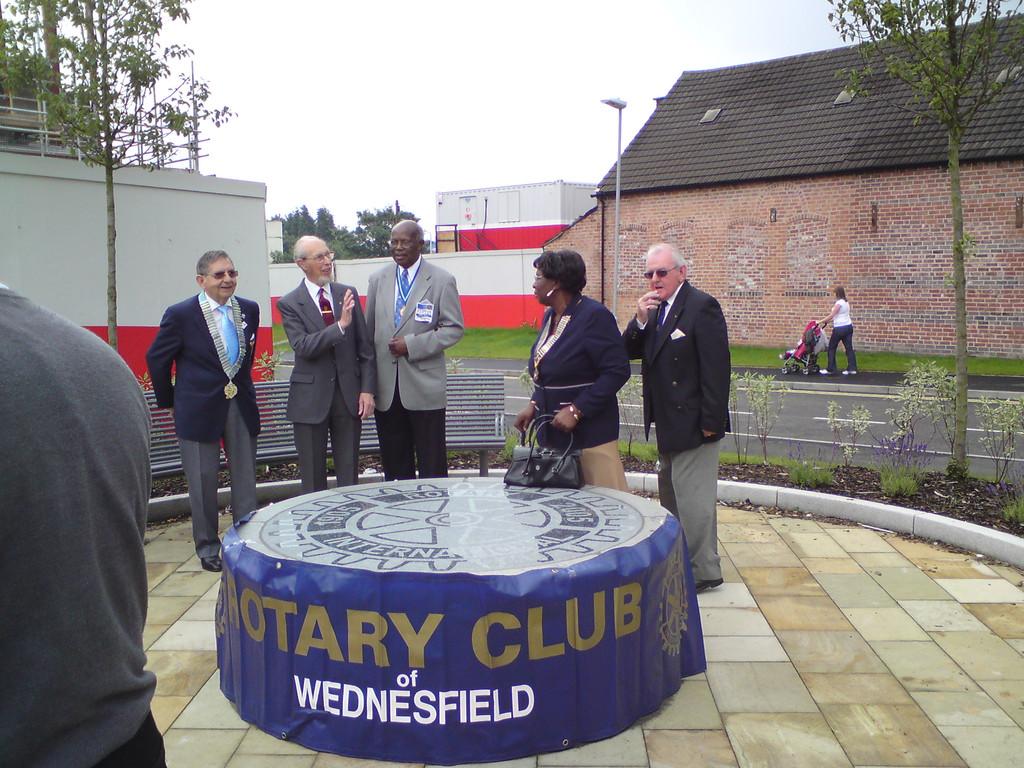 Dedication of Centennial Wheel