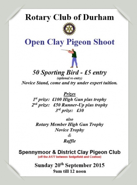 Clay Pigeon Shoot Poster