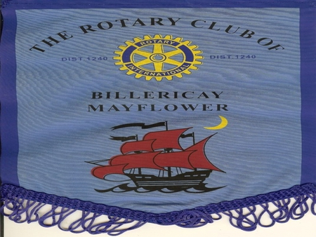 Rotary Club of Billericay Mayflower Flag