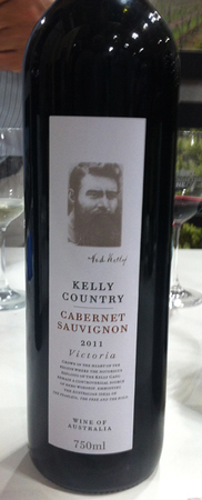 Kelly Country cabernat Sauvignon