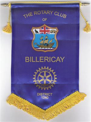 Rotary Club of Billericay Flag