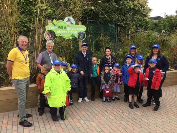 Rotary arranged day at theZoo as part of the national Kids Out Day