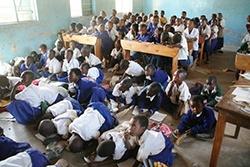 Rotary Godalming Wosi Wosi Desk project Tanzania